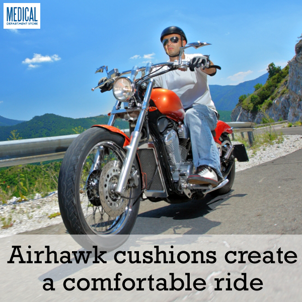 Motorcycle cushions