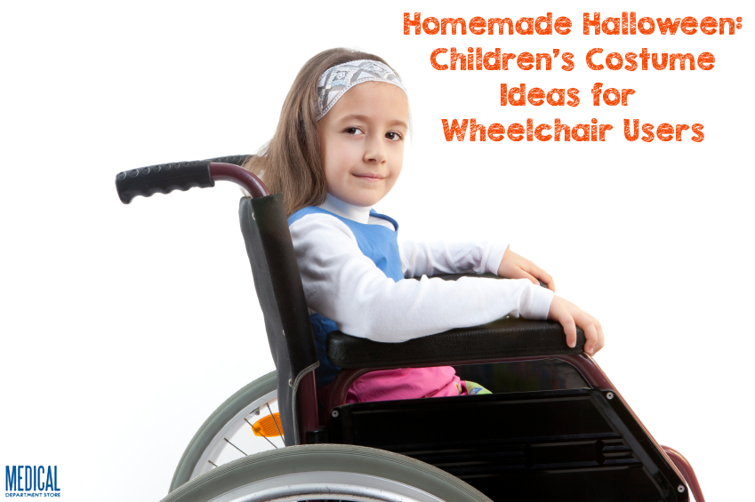 Trick Or Treat Homemade Halloween For Wheelchair Users